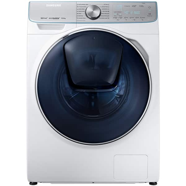 Masina de spalat rufe frontala SAMSUNG WW10M86INOA/LE, EcoBubble, 10kg, 1600rpm, Clasa A+++, alb