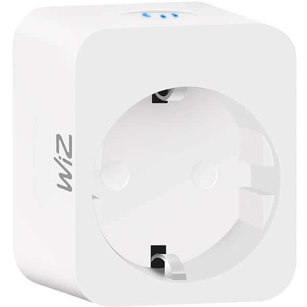 Priza smart WIZ Connected, Wi-Fi, 2300W, alb