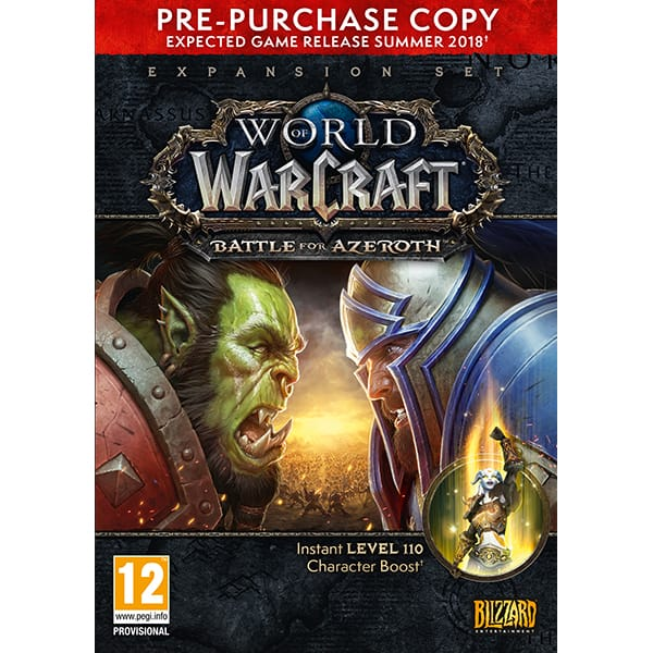 World of Warcraft: Battle for Azeroth PC Pre-Purchase Box