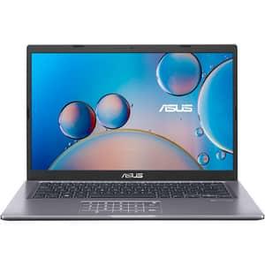 "Laptop ASUS X415EA-EB531, Intel Core i3-1115G4 pana la 4.1GHz, 14"" Full HD, 8GB, 1TB + SSD 128GB, Intel UHD Graphics, Free Dos, gri"