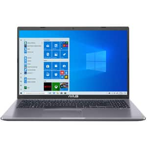 "Laptop ASUS X509MA-BR237T, Intel Celeron N4020 pana la 2.8GHz, 15.6"" HD, 4GB, HDD 1TB, Intel UHD Graphics 600, Windows 10 Home, gri"
