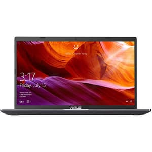 "Laptop ASUS M509DA-EJ371, AMD Ryzen 3 3250U pana la 3.5GHz, 15.6"" Full HD, 8GB, SSD 512GB, AMD Radeon Graphics, Free DOS, gri"