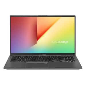 "Laptop ASUS VivoBook X512JA-EJ369, Intel Core i7-1065G7 pana la 3.9GHz, 15.6"" Full HD, 8GB, SSD 512GB, Intel Iris Plus Graphics, Free DOS, gri"