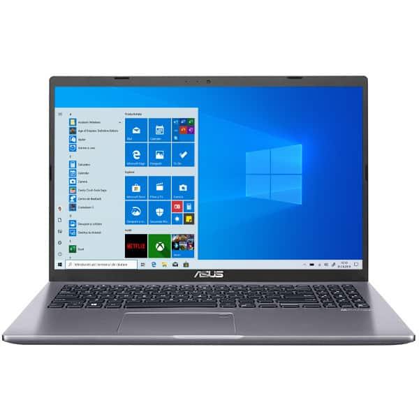 "Laptop ASUS M509DA-EJ463T, AMD Athlon Silver 3050U pana la 3.2GHz, 15.6"" Full HD, 8GB, SSD 256GB, Intel HD Graphics 520, Windows 10 Home, gri"