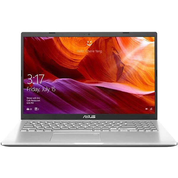 "Laptop ASUS X509MA-BR310, Intel Celeron N4020 pana la 2.8GHz, 15.6"" HD, 4GB, SSD 256GB, Intel UHD Graphics 600, Free DOS, argintiu"