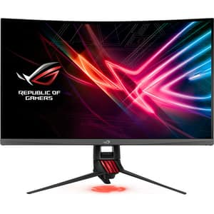 "Monitor Gaming curbat LED VA ASUS ROG Strix XG32VQR, 32"", WQHD, 144Hz, FreeSync, negru"