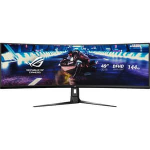 Monitor Gaming curbat LED VA ASUS ROG Strix XG49VQ, 144Hz, FreeSync 2 HDR, negru
