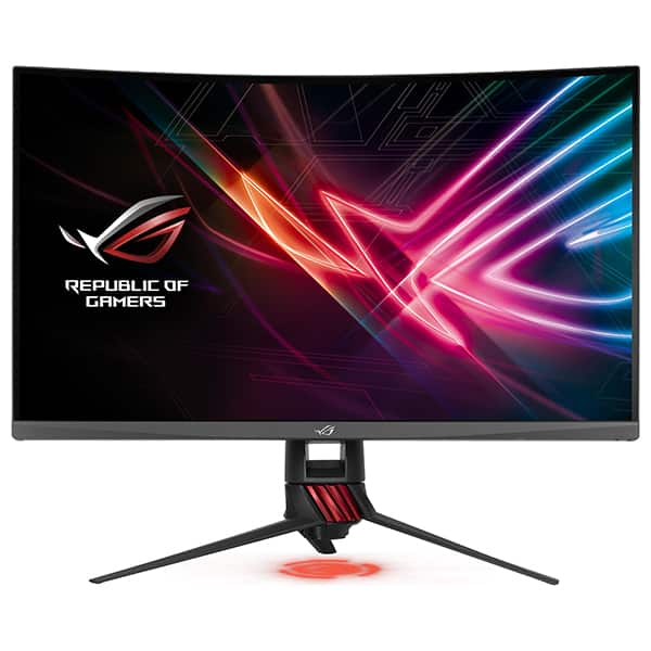 "Monitor Gaming curbat LED VA ASUS ROG Strix XG32VQ, 31.5"", WQHD, 144Hz, FreeSync, negru"