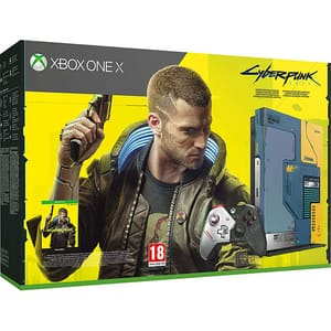 Consola MICROSOFT Xbox One X 1TB, Cyberpunk 2077 Limited Edition + joc Cyberpunk 2077 (cod download)