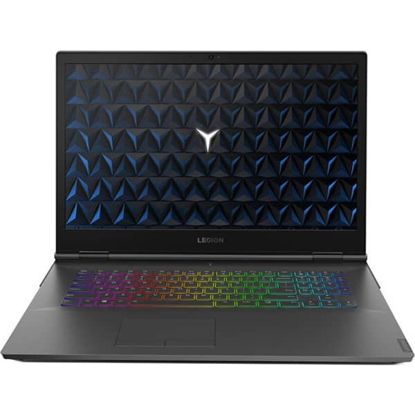 "Laptop Gaming LENOVO Legion Y740-17IRH, Intel Core i7-9750H pana la 4.5GHz, 17.3"" Full HD, 16GB, 1TB, NVIDIA GeForce GTX 1660 Ti 6GB, Free DOS, negru"