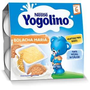 Gustare NESTLE Yogolino Gris cu lapte si biscuiti 12344620, 6 luni+, 4 x 100g