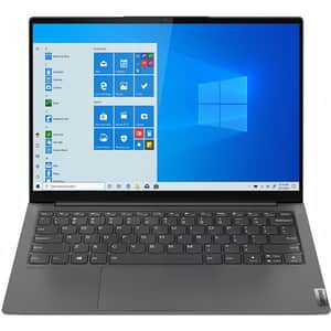 "Laptop LENOVO Yoga Slim 7 13ACN5, AMD Ryzen 7 5800U pana 4.4GHz, 13.3"" QHD, 16GB, SSD 1TB, AMD Radeon Graphics, Windows 11 Home, Iron Grey"