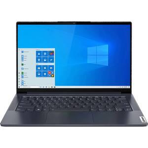 "Laptop LENOVO Yoga Slim 7 14ARE05, AMD Ryzen 7-4800U pana la 4.2GHz, 14"" Full HD, 16GB, SSD 1TB, AMD Radeon Graphics, Windows 10 Home, gri"
