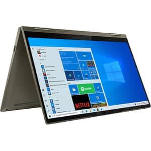 "Laptop 2 in 1 LENOVO Yoga 7 14ITL5, Intel Core i7-1165G7 pana la 4.7GHz, 14"" Full HD Touch, 16GB, SSD 1TB, Intel Iris Xe Graphics, Windows 10 Home, Dark Moss"