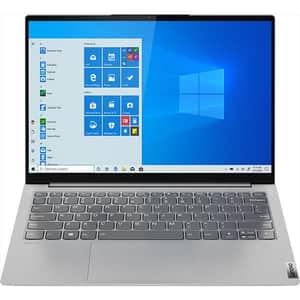 "Laptop LENOVO Yoga Slim 7 13ITL5, Intel Core i5-1135G7 pana 4.2GHz, 13.3"" QHD, 16GB, SSD 1TB, Intel Iris Xe Graphics, Windows 10 Home, Light Silver"