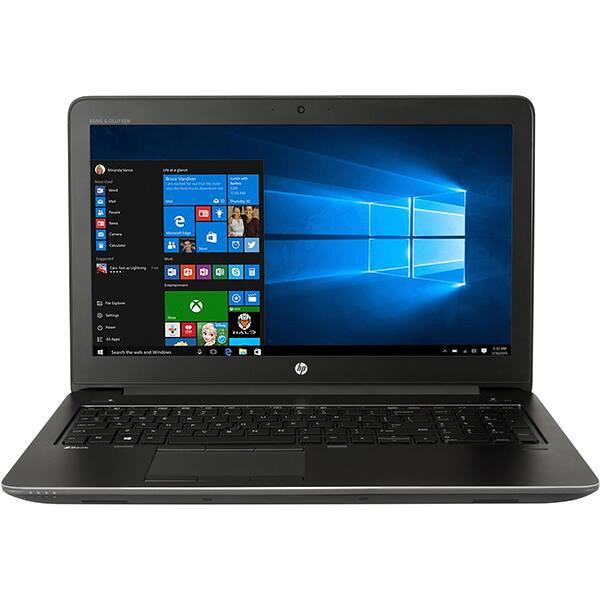 """Laptop HP ZBook 15 G3, Intel® Core™ i7-6700HQ pana la 3.5GHz, 15.6"""" Full HD, 8GB, SSD 256GB, NVIDIA Quadro M1000M 2GB, Windows 10 Pro, Negru"""
