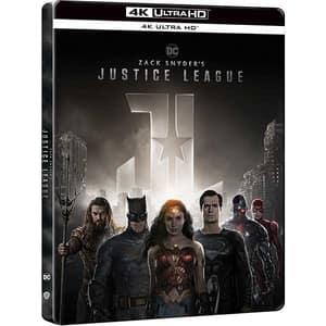 Zack Snyder's - Liga dreptatii Blu-ray 4K Steelbook