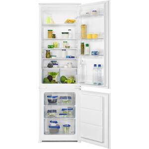 Combina frigorifica incorporabila ZANUSSI ZNLN18FS1, Static low frost, 267 l, H 178 cm, Clasa F, alb