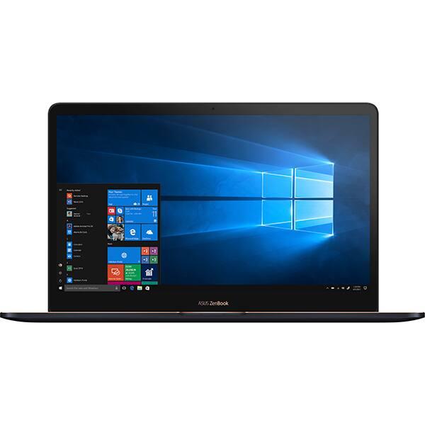 "Ultrabook ASUS ZenBook Pro UX550GD-BN018R, Intel Core i5-8300H pana la 4.0GHz, 15.6"" Full HD, 8GB, SSD 512GB, NVIDIA GeForce GTX 1050 4GB, Windows 10 Pro, Deep Dive Blue"