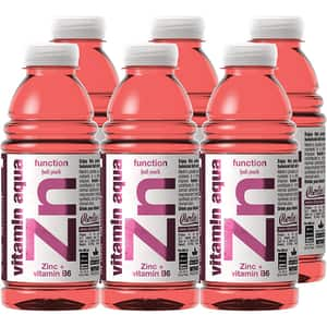 Apa cu vitamine ZN VITAMIN AQUA Fruit Punch bax 0.6L x 6 sticle