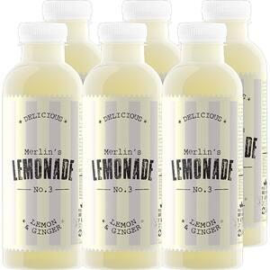 Limonada NO. 3 Lemon&Ginger bax 0.6L x 6 sticle