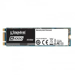 Solid-State Drive (SSD) KINGSTON A1000, 960GB, PCI Express x2, M.2 PCIE, SA1000M8/960G
