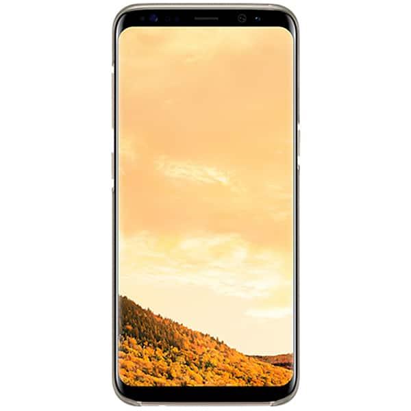 Husa Clear Cover SAMSUNG Galaxy S8, EF-QG950CFEGWW, Gold