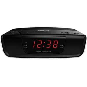 Radio cu ceas PHILIPS AJ3123/12, FM, Buzzer, negru