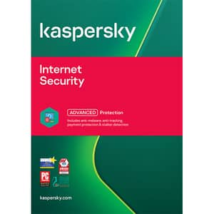 Antivirus KASPERSKY Internet Security, 1 an, 3 utilizatori, Retail