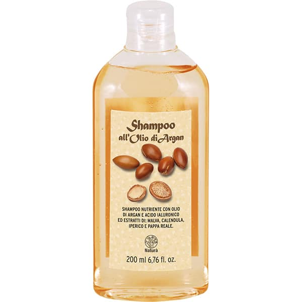 Sampon cu ulei de argan si extract de galbenele LA DISPENSA, 200ml