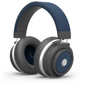 Casti PROMATE Astro, Bluetooth, Over-Ear, Microfon, albastru