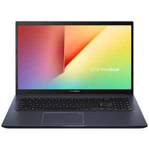 """Laptop ASUS VivoBook 15 X513EA-BQ1871, Intel Core i5-1135G7 pana la 4.2GHz, 15.6"""" Full HD, 8GB, SSD 512GB, Intel Iris Xe, Endless OS, negru"""