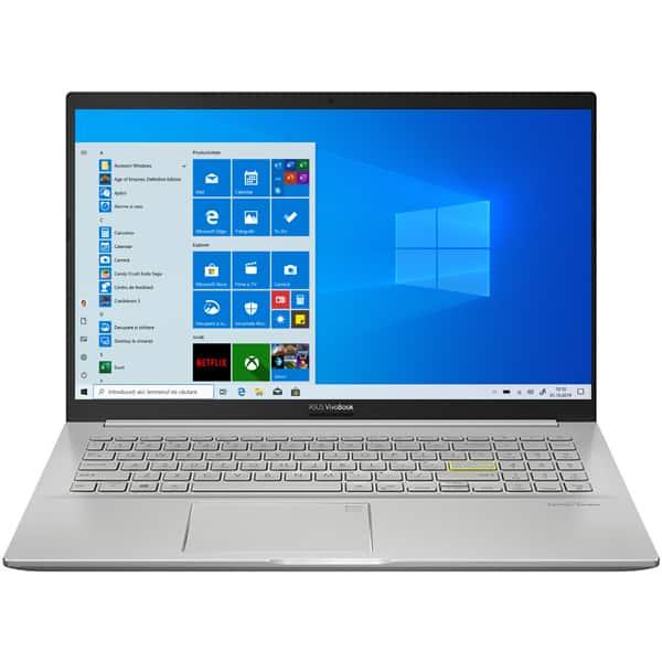 "Laptop ASUS VivoBook 15 M513IA-EJ059T, AMD Ryzen 5 4500U pana la 4.0GHz, 15.6"" Full HD, 8GB, SSD 512GB, AMD Radeon Graphics, Windows 10 Home, auriu"