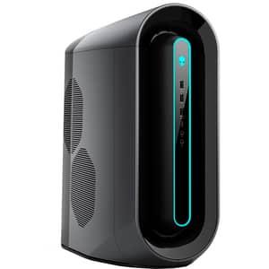 Sistem Desktop Gaming DELL Alienware Aurora R10, AMD Ryzen 9 3950X pana la 4.7GHz, 32GB, 1TB + SSD 512GB, NVIDIA GeForce RTX 3080 10GB, Windows 10 Pro, negru