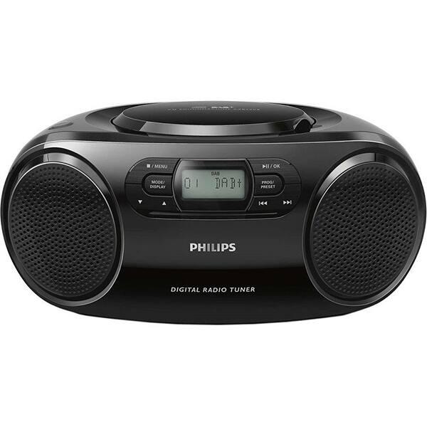 Microsistem audio PHILIPS AZB500/12, CD, Radio FM, negru