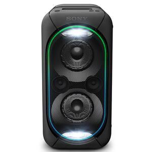 Sistem audio High Power SONY GTKXB60B, Bluetooth, NFC, Extra Bass, Party Music, Iluminare, negru