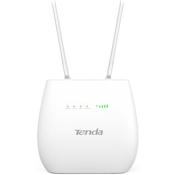 Router Wireless TENDA 4G680 V2, 300 Mbps, 4G LTE & VoLTE, alb
