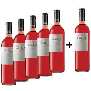 Vin rose sec Callia Alta Shiraz Rose, 0.75L, 5+1 sticle