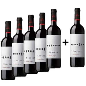 Vin rosu sec Corcova Feteasca Neagra, 0.75L, 5+1 sticle
