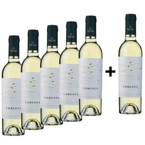 Vin alb dulce Corcova Dessert, 0.375L, 5+1 sticle