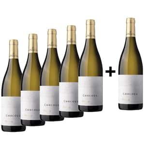 Vin alb sec Corcova Reserve Chardonnay, 0.75L, 5+1 sticle