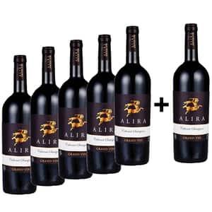 Vin rosu sec Alira Grand Vin Cabernet Sauvignon 5+1, 0.75L