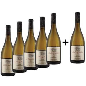 Vin alb sec La Migdali Chardonnay, 0.75L, 5+1 sticle