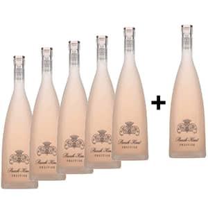 Vin rose sec Chateau Puech Haut Prestige Rose Special Edition, 0.75L, 5+1 sticle