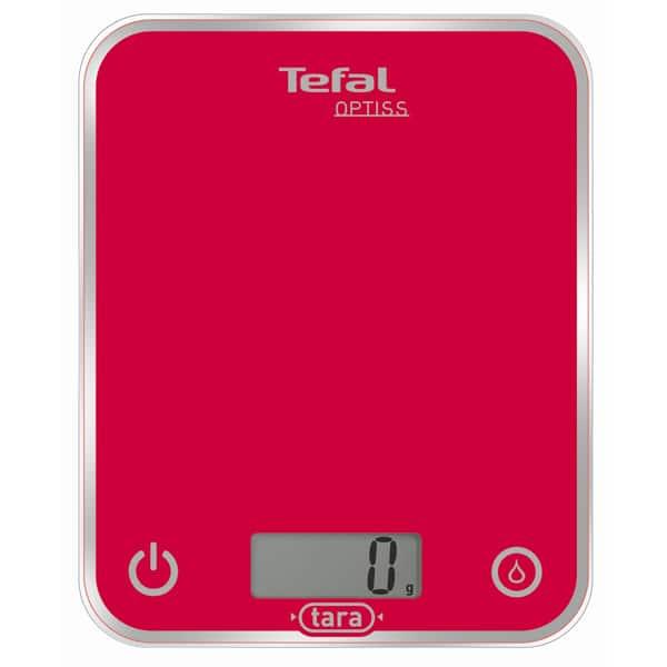 Cantar de bucatarie TEFAL Optiss BC5003, 5kg, roz