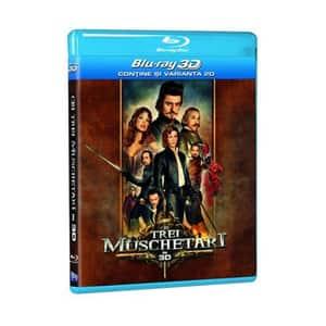 Cei trei muschetari Blu-ray 3D + 2D
