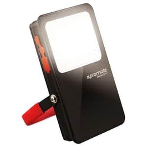 Proiector LED portabil PROMATE Beacon-1, IP54, 8W, PowerBank 5400 mAh, negru