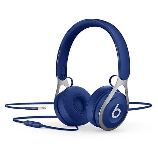 Casti BEATS EP, Cu Fir, On-Ear, Microfon, albastru