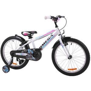 "Bicicleta copii OMEGA Master, 16"", alb"