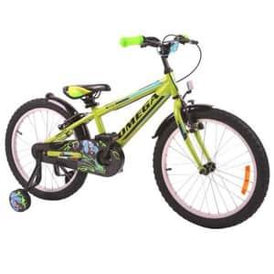 "Bicicleta copii OMEGA Master, 16"", verde"